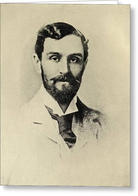 Rogers Drawings Greeting Cards - Sir Roger Casement,1864-1916. Irish Greeting Card by Ken Welsh