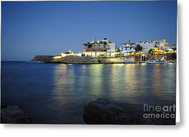 Sissi, Crete Greeting Card by Stephen Smith
