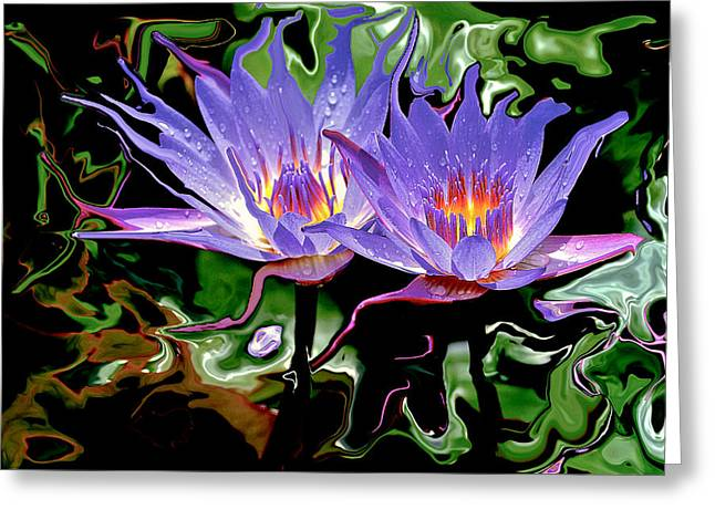 Merging Photographs Greeting Cards - Sister Greeting Card by James Steele