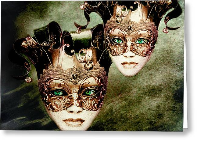 Sisters Greeting Card by Photodream Art