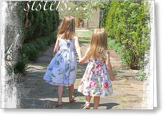 Sisters-true Blessing Greeting Card by Jean Plout