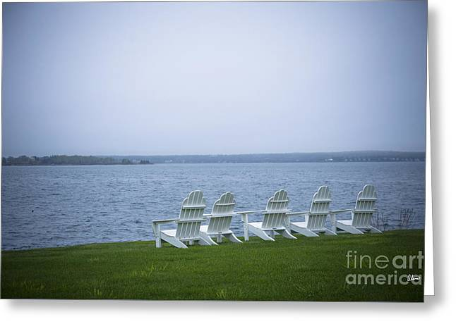 Award Winning Art Greeting Cards - Sit and Relax Greeting Card by Alana Ranney