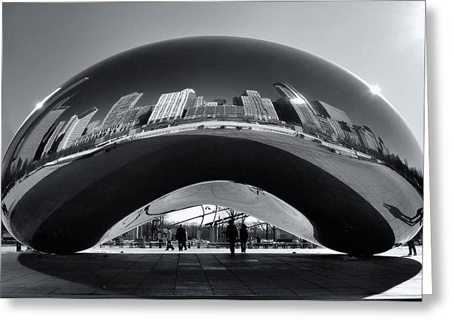 The Bean Greeting Cards - Sitting Pretty Greeting Card by Sheryl Thomas