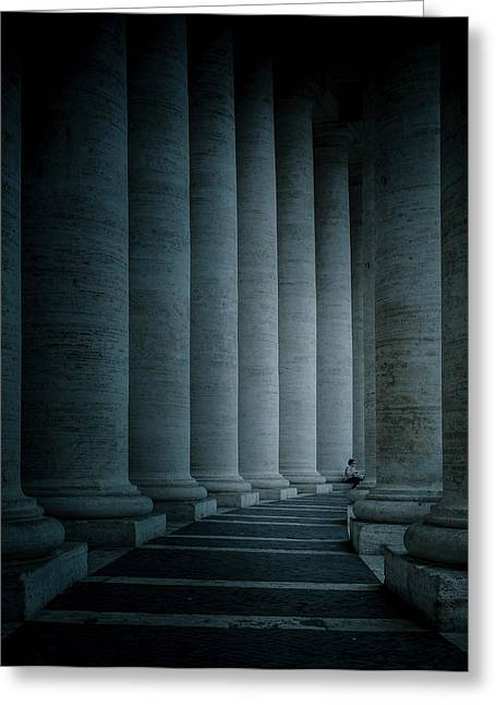 Rome Greeting Cards - Size Proportions Greeting Card by Mirek