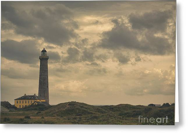 Skagen Lighthouse Greeting Card by Marcus Lindstrom