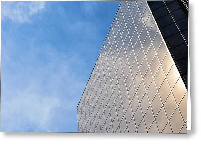 Skies Of Nashville Greeting Card by Jan Amiss Photography