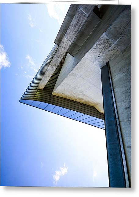 Residential Structure Digital Greeting Cards - Sky art sci-fi feeling Greeting Card by Toppart Sweden