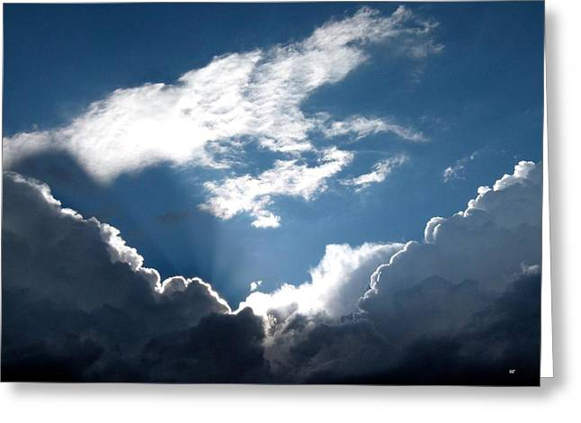 Sky Drama Greeting Card by Will Borden