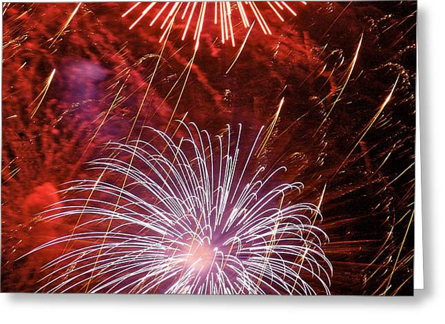 Sky Explosion Greeting Card by Phill  Doherty