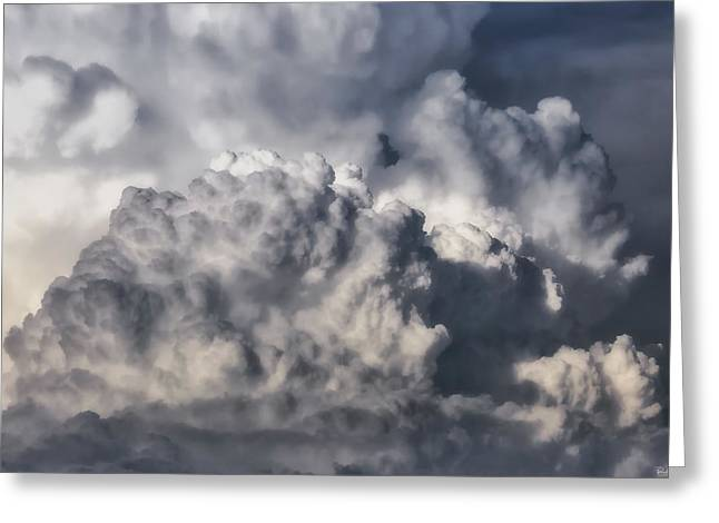 Scenic Drive Greeting Cards - Sky Journey Greeting Card by Rick Furmanek