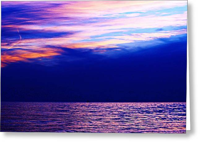 Reflecting Water Greeting Cards - Sky Of Clouds Greeting Card by Kathy Henderson