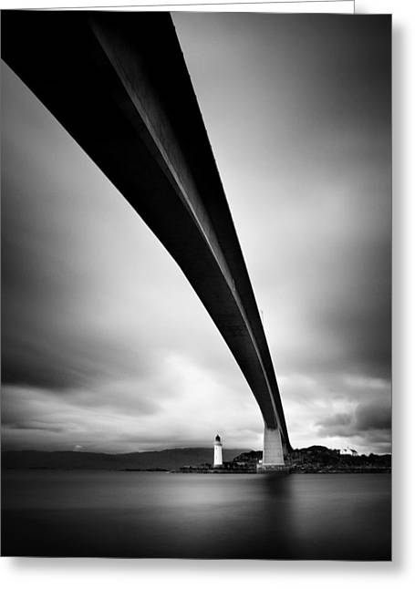 Isle Greeting Cards - Skye Bridge Greeting Card by Nina Papiorek
