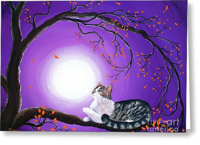 Skye Greeting Card by Laura Iverson