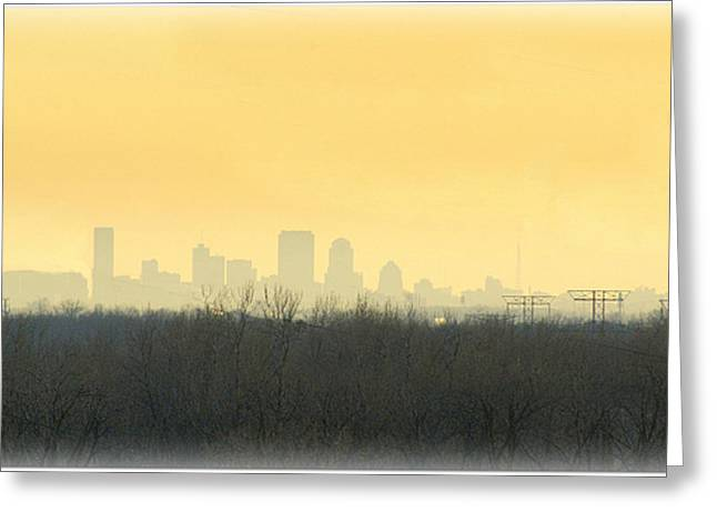 Skyline  Greeting Card by Larry Moore