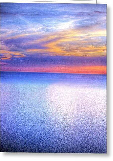 Randy Greeting Cards - Sleeping Bear Skies Greeting Card by Randy Pollard