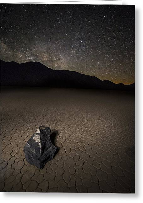 Sleeping Under The Stars Greeting Card by Bill Cantey