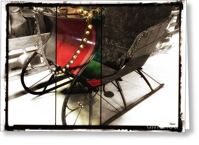 Sleigh Bells Greeting Card by Steven Digman