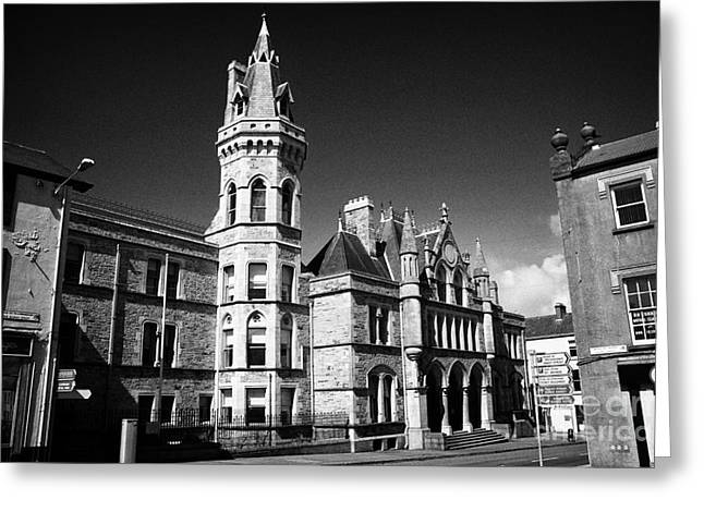 Sligo Greeting Cards - Sligo Courthouse Republic Of Ireland Greeting Card by Joe Fox