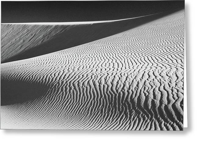 Sand Dunes Greeting Cards - Slipping Through My Fingers Greeting Card by Laurie Search