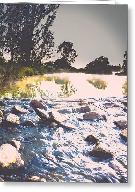 Photo Art Gallery Greeting Cards - Slowly then faster Greeting Card by George Fivaz
