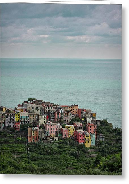 Italy Greeting Cards - Small world Greeting Card by Patrick English