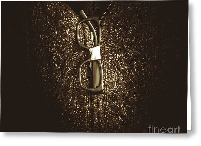 Smart Mens Fashion  Greeting Card by Jorgo Photography - Wall Art Gallery