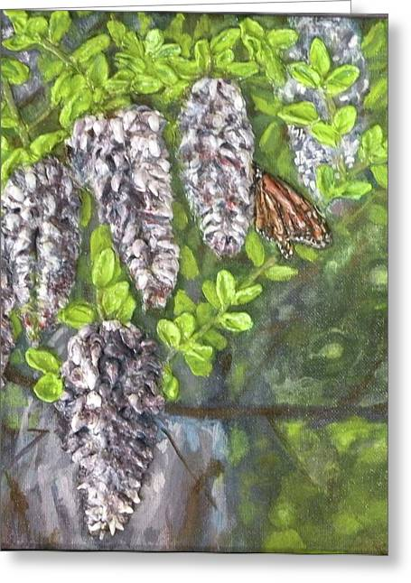 3d. Reliefs Greeting Cards - Smell the Moutain Laurel Greeting Card by Lorrie T Dunks