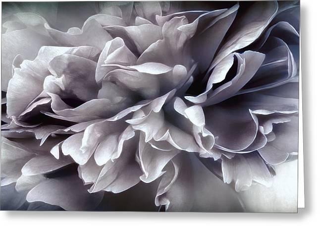 Dark Gray Blue Greeting Cards - Smoke on the Water Greeting Card by Darlene Kwiatkowski