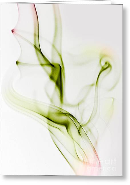 Gradient Greeting Cards - Smoke Wings Greeting Card by Nailia Schwarz