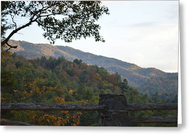 Costello Greeting Cards - Smokies Greeting Card by Carol Costello