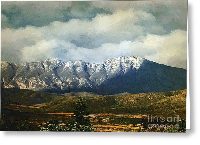 Smoky Clouds On A Thursday Greeting Card by RC deWinter