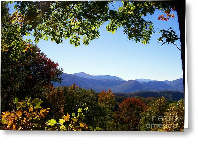 Gatlinburg Tennessee Greeting Cards - Smoky Mountains Greeting Card by Lena Auxier