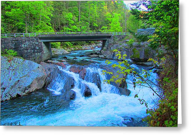 Beautiful Creek Greeting Cards - Smoky Mountains Stream Greeting Card by Michael Rucker