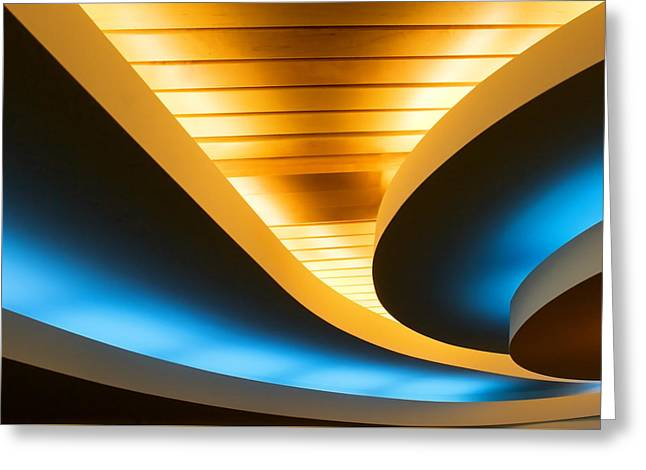 Smooth Curves Greeting Card by Todd Klassy
