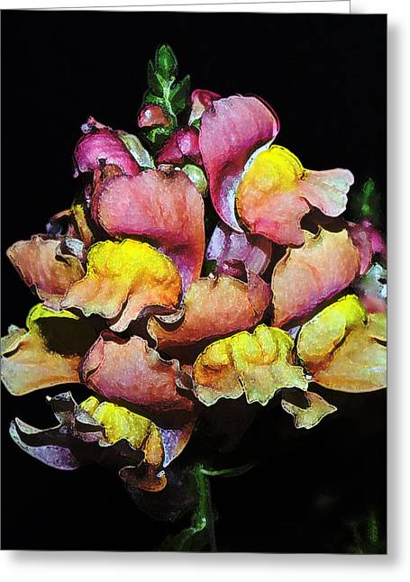 Snapdragons Greeting Cards - Snapdragons Greeting Card by Al  Mueller