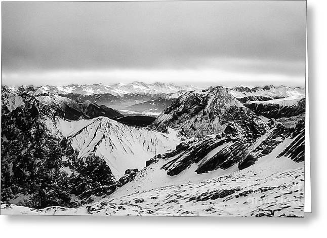 Swiss Photographs Greeting Cards - Snow in the Swiss Alps 2 Greeting Card by Bob Phillips