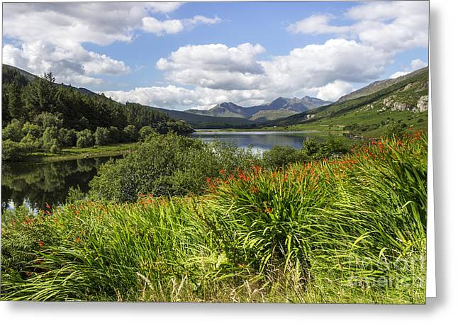 Park Scene Greeting Cards - Snowdon View Greeting Card by Ian Mitchell