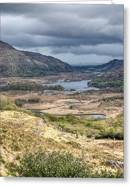 Festivities Greeting Cards - Snowdonia National Park View West Greeting Card by Douglas Barnett