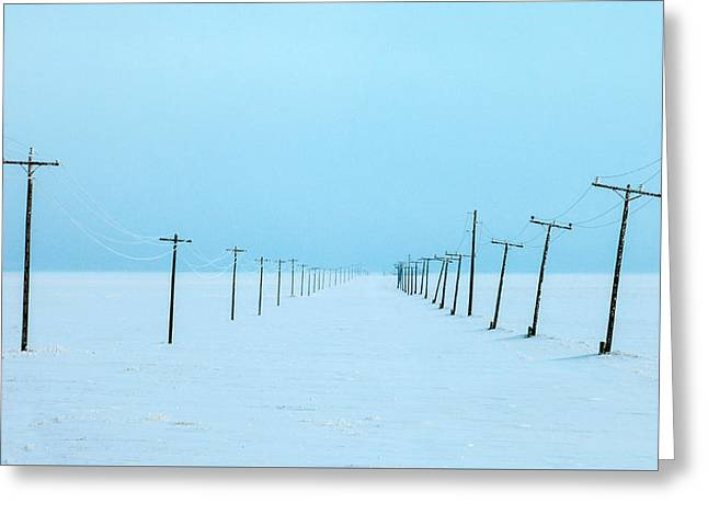 Drifting Snow Photographs Greeting Cards - Snowed In Greeting Card by Todd Klassy