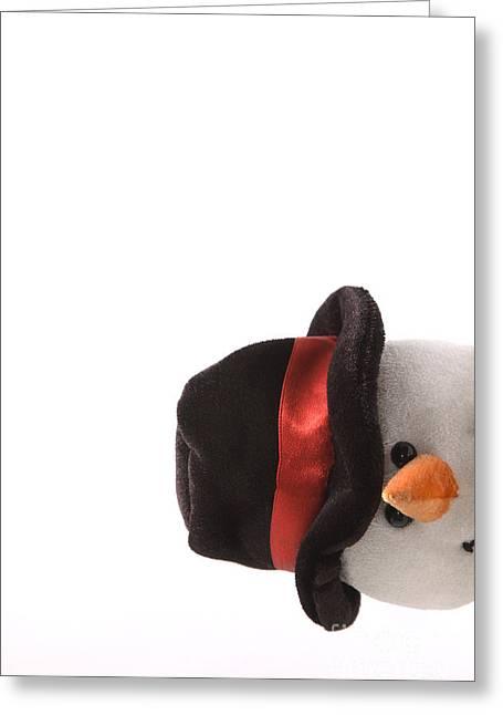 Snowman Greeting Cards - Snowman Pt Greeting Card by Andy Smy