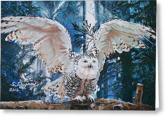 how to make a snowy owl model