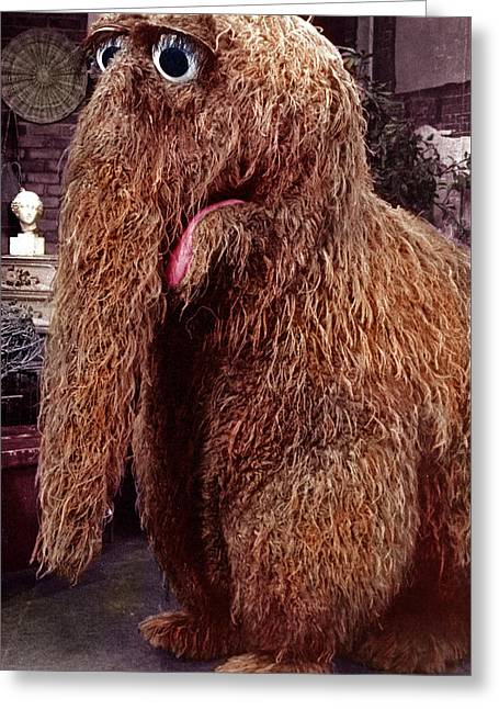 Snuffleupagus Greeting Card by Sesame Street