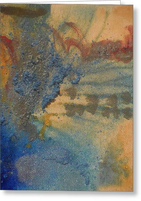 Powder Greeting Cards - So Blue You Can Almost Feel It Greeting Card by Karen Butscha