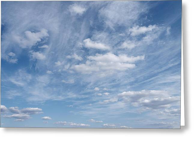 Breezy Greeting Cards - Soar...cloudscape Greeting Card by Tom Druin