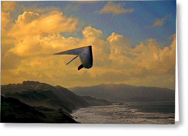 Soaring Greeting Card by Jeff Burgess