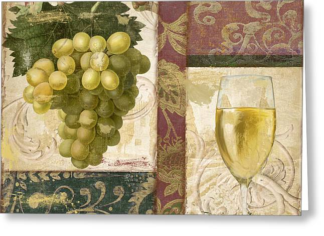 Riesling Greeting Cards - Sofia II Greeting Card by Mindy Sommers