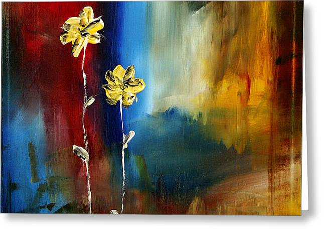 Soft Touch Greeting Card by Megan Duncanson