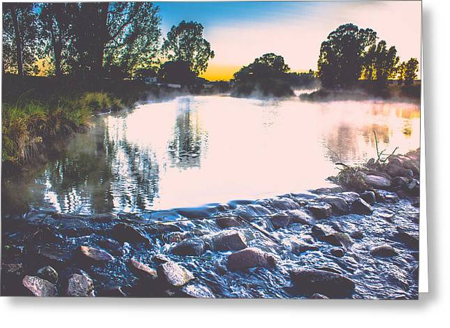 Photo Art Gallery Greeting Cards - Softly Greeting Card by George Fivaz