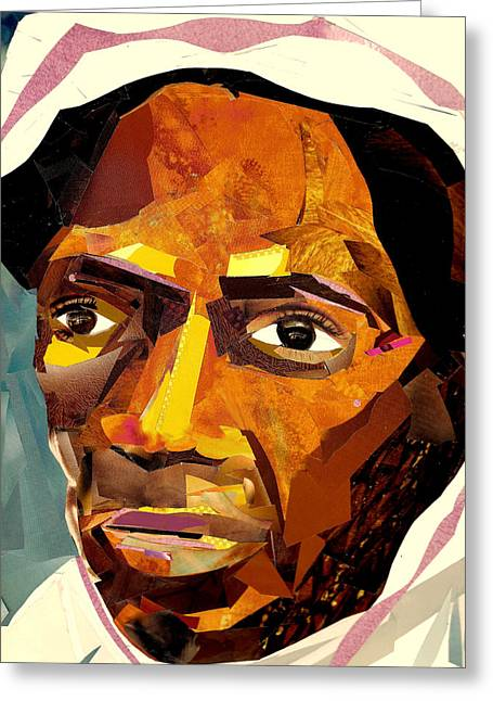 Slavery Greeting Cards - Sojourner Truth Greeting Card by Paul Frederick Bush