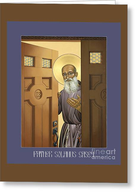 Solanus Casey - Lwvsc Greeting Card by Lewis Williams OFS